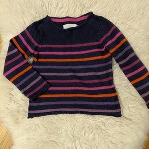 H&M striped pullover sweater